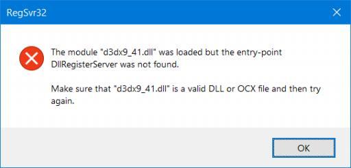 Problém s DirectX 9 vo Windows 10
